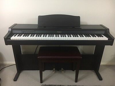 ROLAND HP-1 Digital Piano + Piano Stool + Bonus Extras