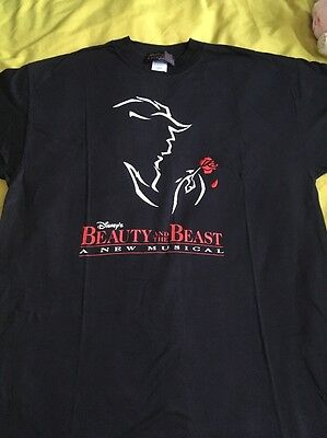 Beauty And The Beast T Shirt Large