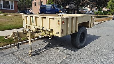 M1101 Military Trailer-No Reserve