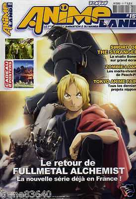 GRAND MAGAZINE MANGA/..ANIME LAND N° 151 de 2009../complet avec POSTERS GEANTS