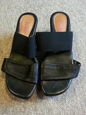 Black Jones Bootmakers wedge Sandals size 5