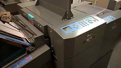 Duplo DC-445 IFS Automatic Creaser With Folding System For Digital Print