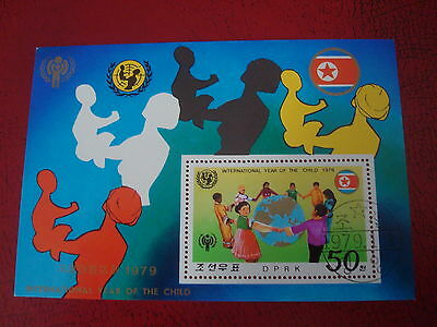 Asia - 1979 Year Of The Child - Minisheet - Unmounted Used - Ex. Condition