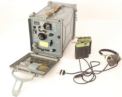 Russian military HF/VHF receiver R-323 20 - 100 MHz