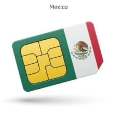 Mexico Puerto Rico SIM Card Travel Business Vacation Unlimited Talk, Text & Data