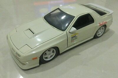 Initial D Die-Cast 1:24 Red Suns Mazda RX-7  FC3S by Jada Toys