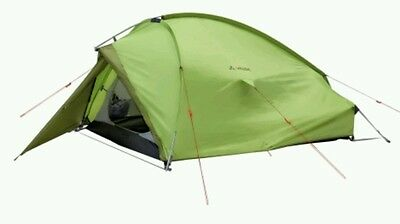 *REDUCED* Vaude Taurus 2 Tent hiking trekking man person chute green