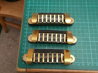 original HOFNER GALAXIE guitar bridge with dampener 1960's/1970's - LAST FEW