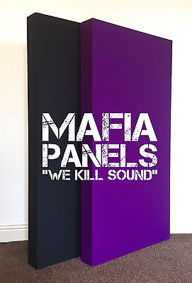 2x Mafia Panels Acoustic Bass Traps- Professional Quality- £80!!