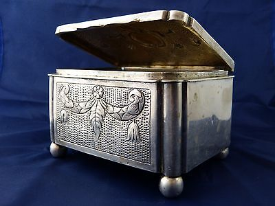 Vintage Jewelry Box Silver 800 Poland, 328 gr.