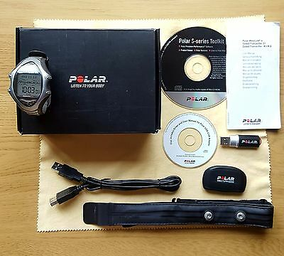 Boxed Polar RS800CX with Polar Heart Rate Monitor HRM + IrDA USB Adapter