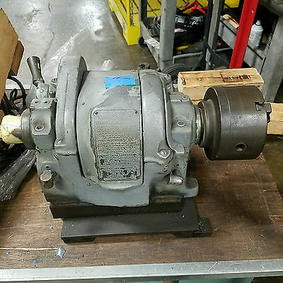"Engine Lathe Spindle Head with 3"" chuck"