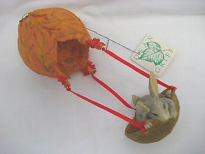 Charming Tails Retired in 1996 Holiday Ballon Ride Ornament Dean Griff NIB