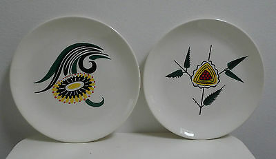 Pair Of Wade Retro Vintage Side Plates