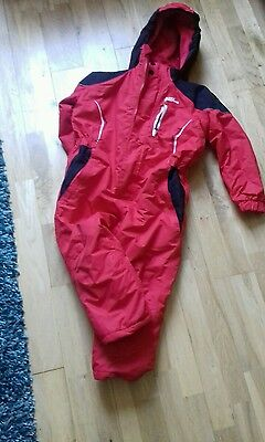 childs all in one snow suit