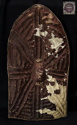Authentic Leather Shield – WANDALA people - North Cameroon