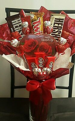 Valentine's Day Gift Baskets!!! FREE TEDDY BEAR WITH PURCHASE