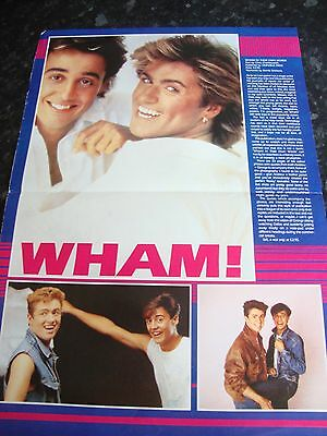 Wham In Their Own Words - 1984 - Review Poster