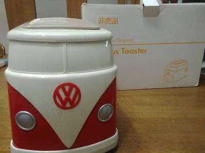 Volkswagen Bus VW Toaster original Not for Sale Red NEW Official JAPAN