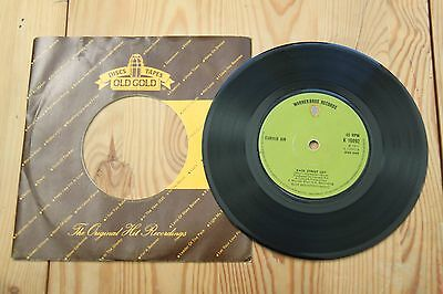 Curved Air, Back Street Love, 7 inch single