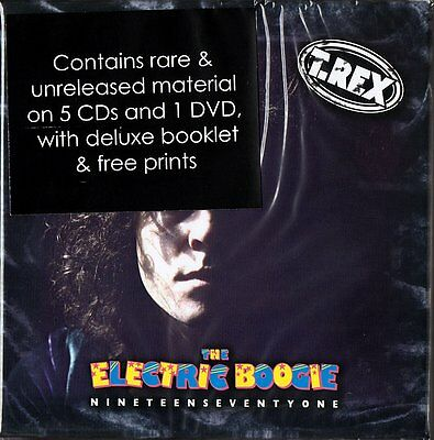 Marc Bolan & T.rex - 'the Electric Boogie' - 6 Disc Audio & Dvd Box Set Booklet