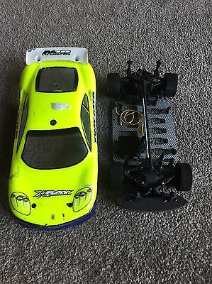 Xray M18 1/18th Scale Rc Touring Car Chassis  Electric
