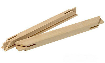 Canvas Stretcher Bars 18mm Professional Standard Canvas Frame - Sold by Box