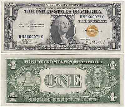 1935 A $1 North Africa Silver Certificate Extra Fine FR 2306