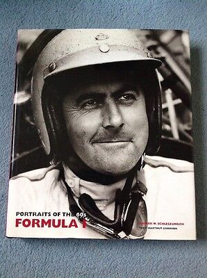 Portraits Of The 60's Formula 1 Book By Rainer W Schlegelmilch 1994
