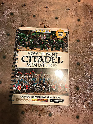 Warhammer How to Paint Citadel Miniatures Book