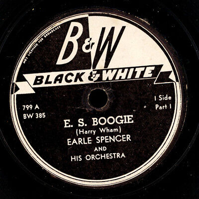 EARLE SPENCER & HIS ORCHESTRA E.S. Boogie/Spencerian Theory (modern Swing) S2476