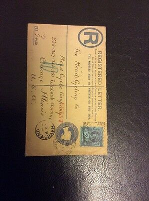 Victoria 2 1/2d 1987/92 Issue On Registered Letter