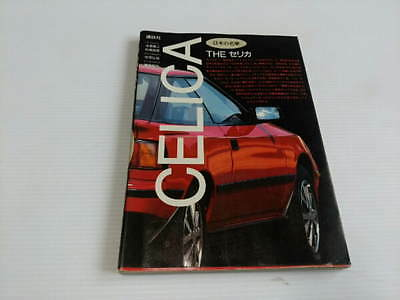 Vintage The Celica book Toyota photo detail history 1600 2000 GT
