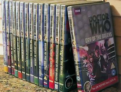 Classic Doctor Who DVD Bundle