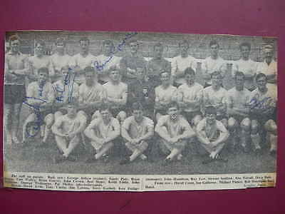 Watford F.c. Team Picture With Autographs
