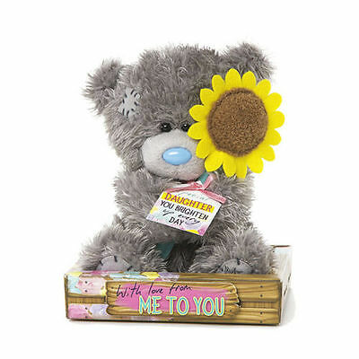 Me to You Tatty Teddy Bear With A Sunflower For Daughter