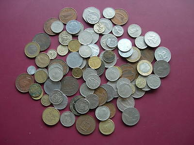 100 Foreign Coins