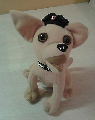 "Applause Taco Bell Plush Chihuahua Puppy Dog 7"" stuffed animal"