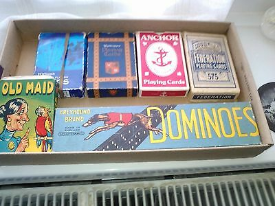 Vintage Playing Cards And Dominoes
