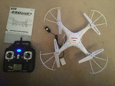 syma x5c Quadcopter With Camera.  Excellent Condition