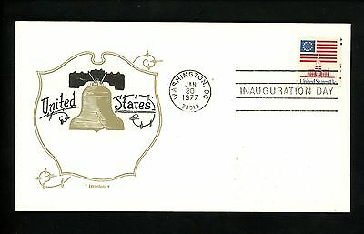 US Inauguration Day FDC James E Carter 1/20/1977 Artopages JEC-104 variety