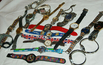 Large Mixed Collection Of  Fashion/Vintage Wristwatches, Spares/Repair