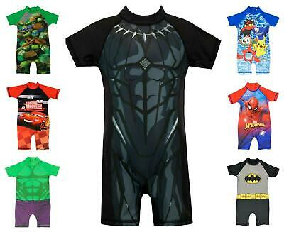 Boys All in One Surf Suit Good Coverage from UV Rays 1.5y to 4-5y Pokemon Cars