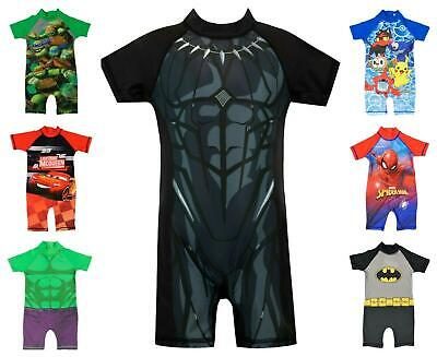 Boys Character All in One Surf Suit Good Coverage from UV Rays 1.5y to 4-5y