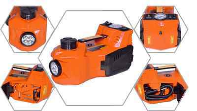 ELECTRIC HYDRAULIC JACK and Impact Wrench 3-in-1!