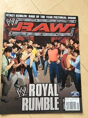 Wwe Magazine January 2005 Wwf Wrestling Rare Royal Rumble 2005 Cover