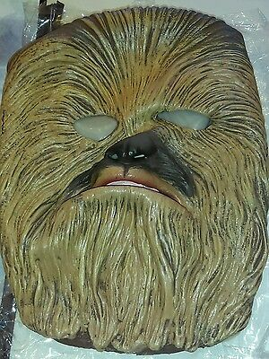 Halloween Chewbacca Star Wars Costume Mask and Candy Bag