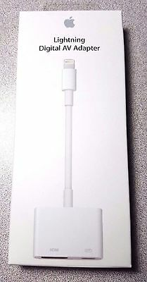 MINT Genuine Apple Lightning Digital AV Adapter for A1438 MD826AM/A