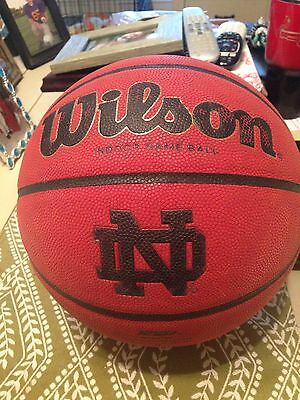 Game Used Notre Dame Basketball