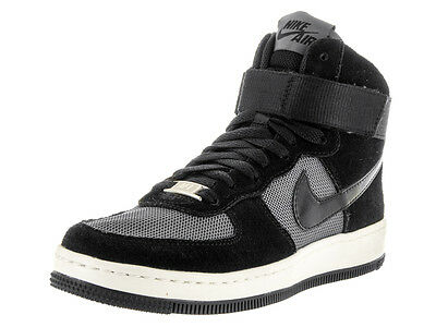 Nike Women's Nike Af1 Ultra Force Mid Black/Black/Dark Grey Basketball Shoe 5.5